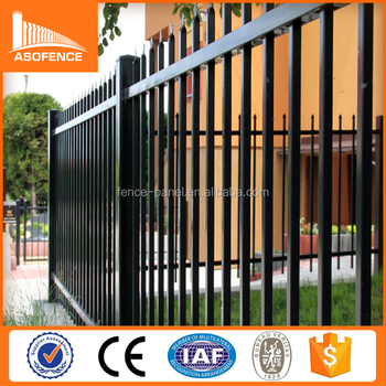 Australia Market Tubuloar Spear Top Security Garrison Fence Metal Steel