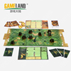 Board Game Production With Animal Miniatures