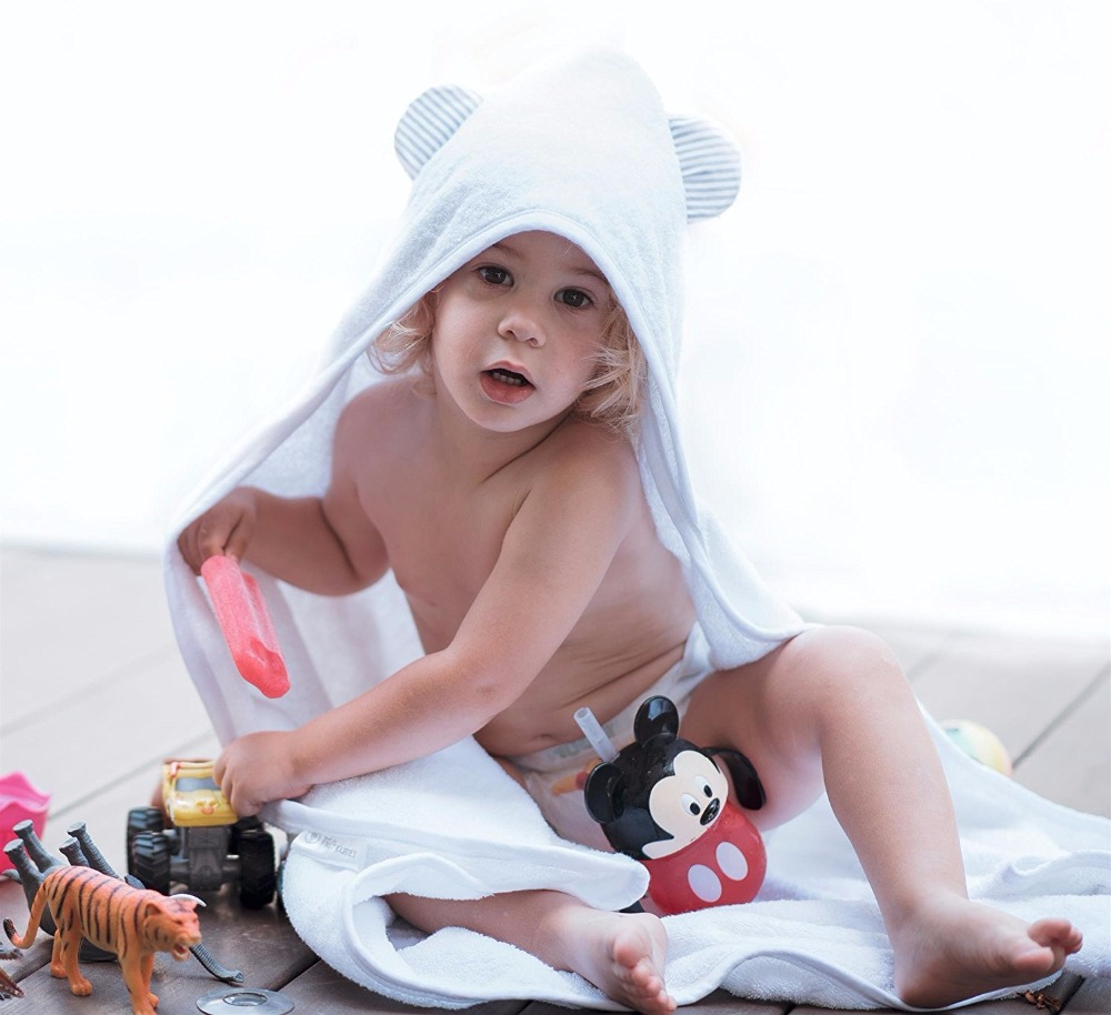 2015 best selling baby bath towels with high quality