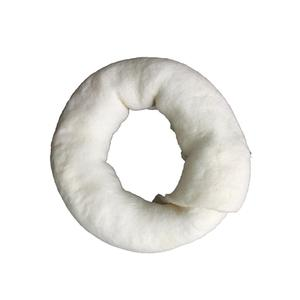 High Protein Bleaching Donuts Pet Treats Dog Chew Rawhide