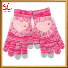 Cheap Knitted Magic Gloves Customized iPhone Smartphone Gloves