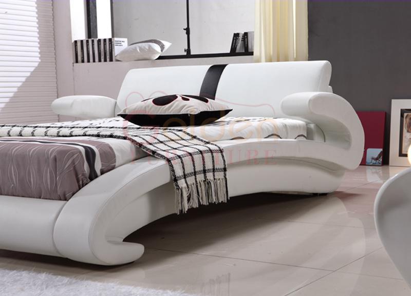 Muebles Modernos Diseños Reina Tamaño Rústica Cama De Madera G1023 ...