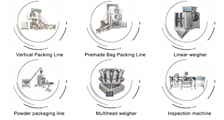 Smart Weigh pack new vertical filling machine supply for salad packing
