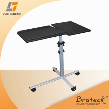 wooden height adjustable laptop stand used for projector and laptop