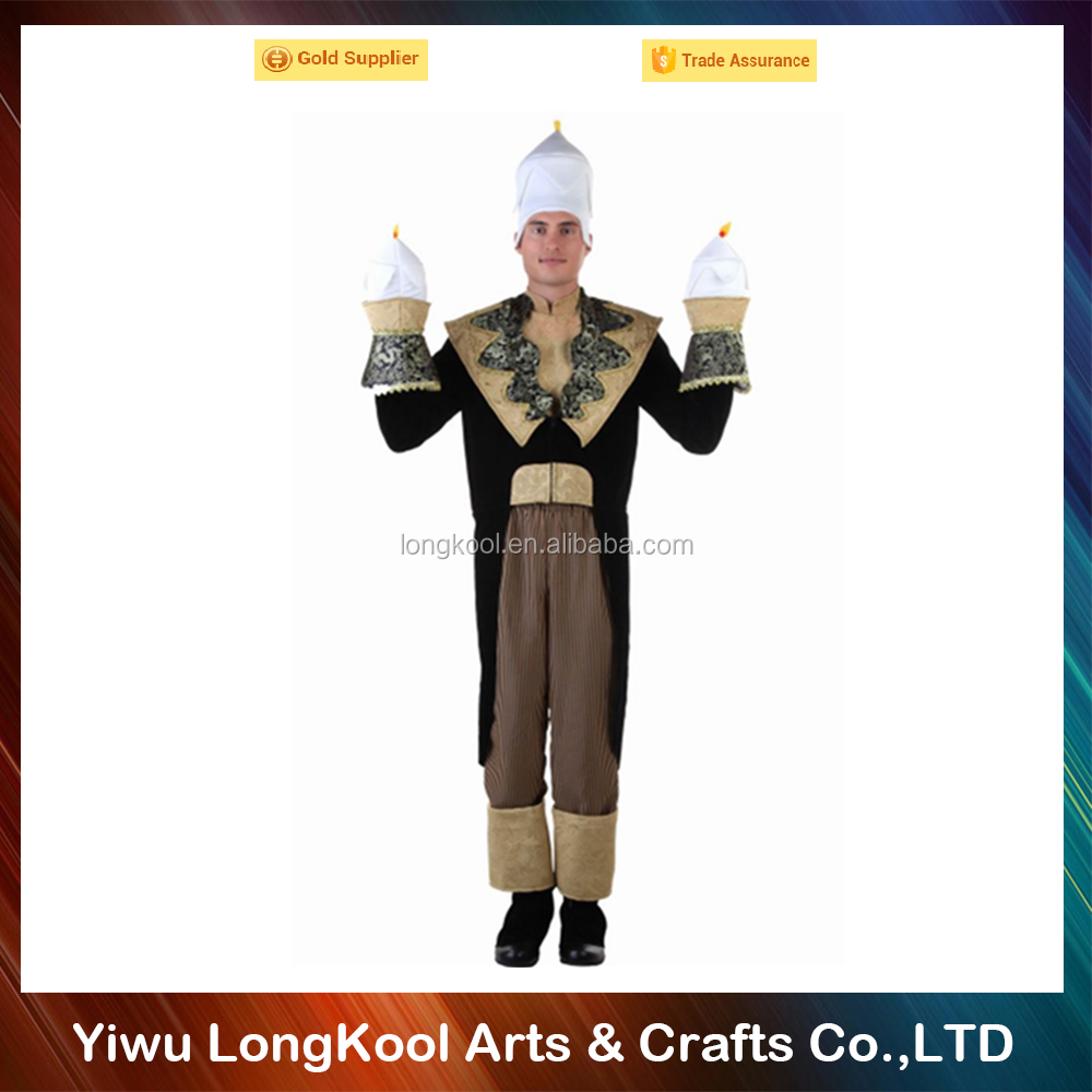 2016 Promotion adult cosplay costume funny masquerade candle halloween costume