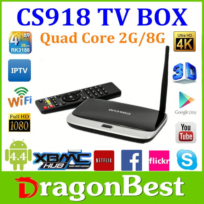 Hot Product Desi Tv Box Cs918 Plus Rk3288 H 265 Android 4 4 Internet Tv Box  - Buy Android Tv Box,Android Smart Tv Box,Google Android 4 4 Tv Box