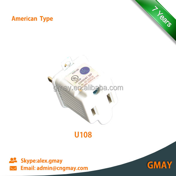 Electrical multi plugs sockets American type U108