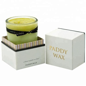 Wholesale luxury gift packaging candle box for candles