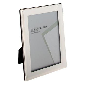 Silver Plated Picture Photo Thick Edge Frame 8\