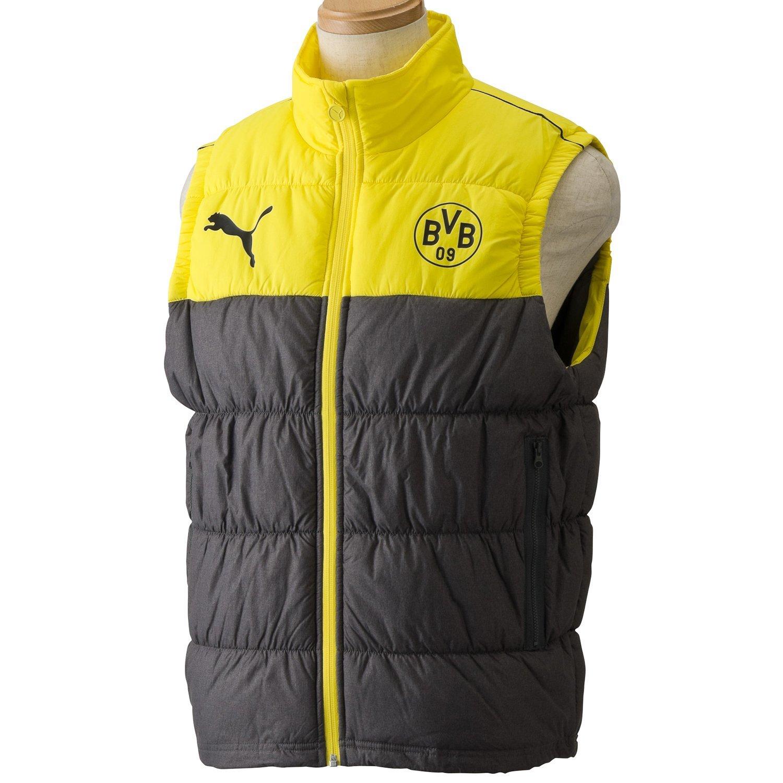f2ae04dfed03 Get Quotations · Borussia Dortmund T7 Padded Sleeveless Jacket 2013   2014