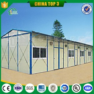 Cheap prefabricated house for office/ domitory/ warehouse/ workshop/school for Mexico earthquake