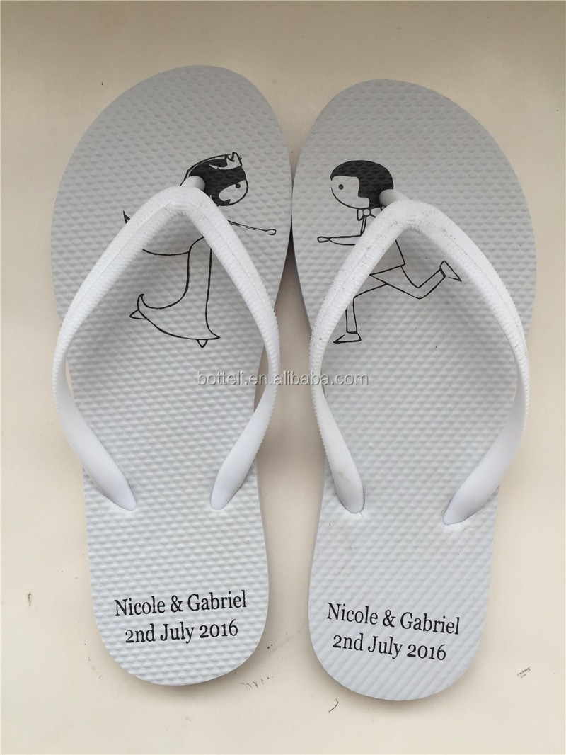 Cheap Wholesale Rubber Material Flip Flops For Promotional Event ...
