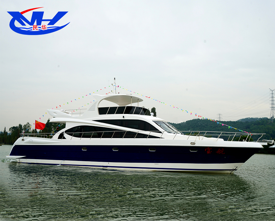 high quality yacht with flashing solar powered LED lighting