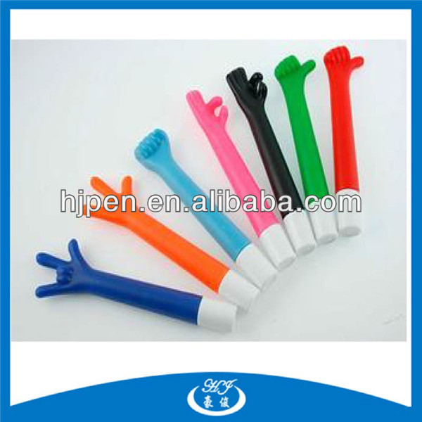 Promotional Finger Victory Hand Pen,Hand Shaped Pens,Y Shaped Pen