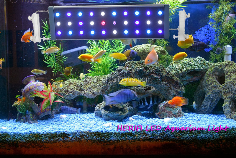 2017 Hot Selling 170w 4ft Intelligent Led Aquarium Light For Fish Tank with Mobile Control