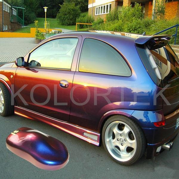 couleur changement pigment utilis dans la peinture de voiture made in china cam l on pigment. Black Bedroom Furniture Sets. Home Design Ideas