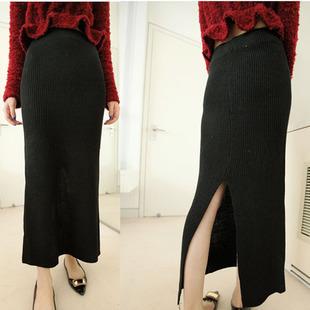 купить 2015 случайный карандаш юбка женская осень зима теплая