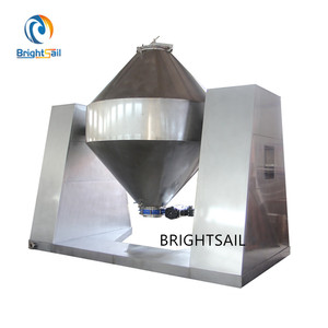 New Stainless steel dry powder Double cone mixer blender With CE