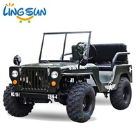 CE Approved 110/125/150cc Mini Kids Willys Jeep with 2 seats (G7-07)