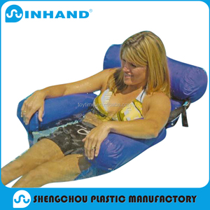2016 High Quality Wholesale PVC Inflayable Float Lounger Chair