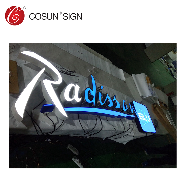 pylon sign, brand signs, high rise signage