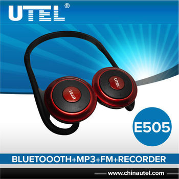 fordable wireless bluetooth headset mp3 fm recorder buy headsets wireless b. Black Bedroom Furniture Sets. Home Design Ideas