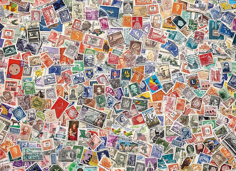 Картинки, открытки коллаж из марок