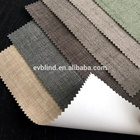 Blackout Double Sides Coating Ready Made Roller Blind/ Color Matching Roller Shade