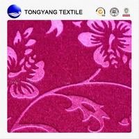 low price new style embossed velvet upholstery fabric best sell