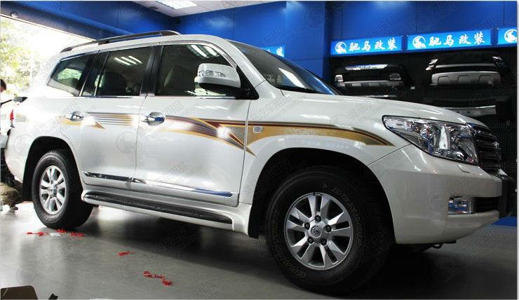 Abs Plastic Aluminium Alloy Oem Toyota Land Cruiser Fj200 2012 ...