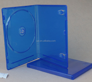 Bluray cheap dvd case 7mm clear slim for double disk