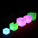 Outdoor waterproof color changing furniture/swimming pool led cube outdoor and wedding rgb led cube light