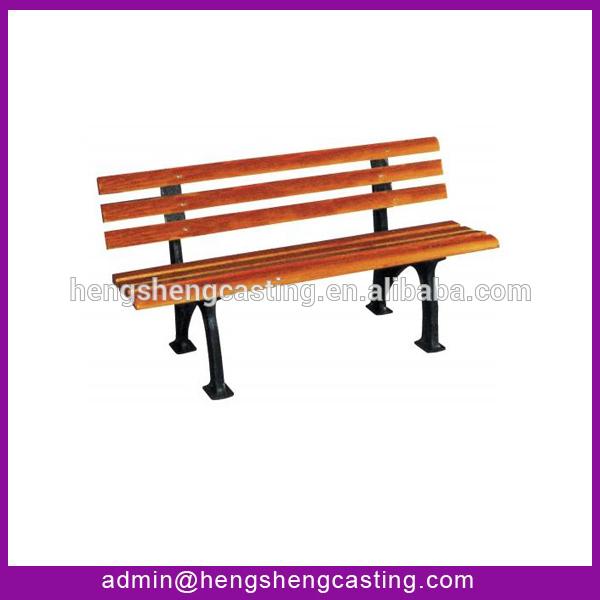 al aire libre de banco de plástico reciclado bancos de madera y ...
