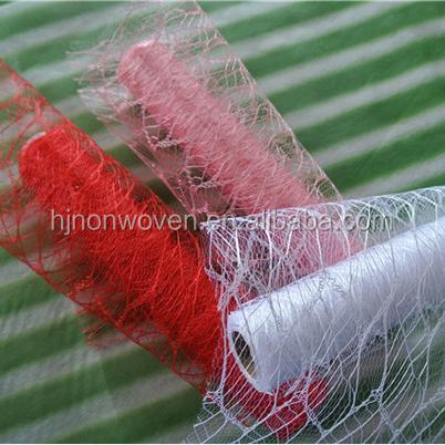 Hojas de plástico decoración de malla para embalaje de la flor y ...