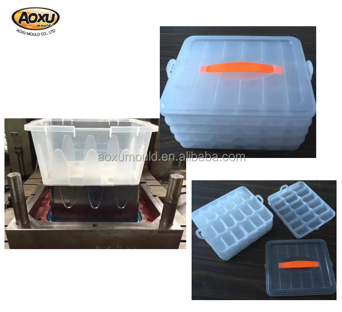 Plastic food container moulding household mold machinery