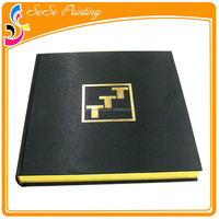 Cheap Offset Printing CMYK Hardback Books With Gold Foil Stamping