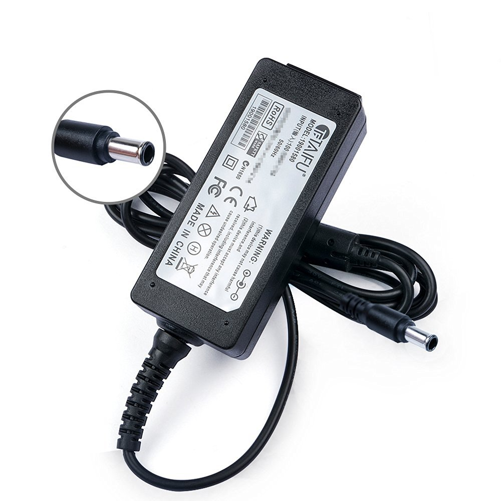 TAIFU AC Adapter for 19V LG Electronics 19'' 20'' 22'' 23'' 24'' 27'' LED LCD Monitor Widescreen LED LCD HDTV 24EN33S 24EN33V 24EN43V 24EC53V 19EN33T 20EN33T, LG Flatron IPS236V IPS236-PN E2750VR-SN