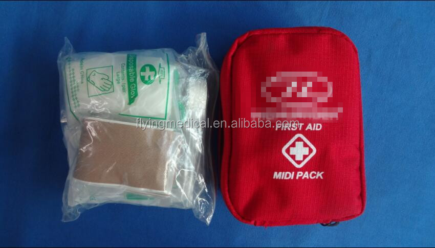 spot goods handy midi waterproof first aid red