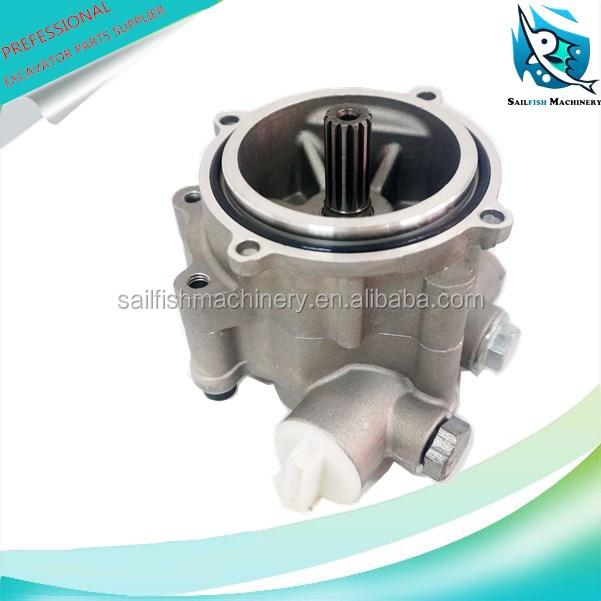 61fc8f7dfae Hot sale good quality K3V63 hydraulic pilot gear pump for KOBELCO SK120-5  SUMITOMO SH120A3 excavator kawasaki part K3V63 hydraulic gear pump for  KOBELCO ...