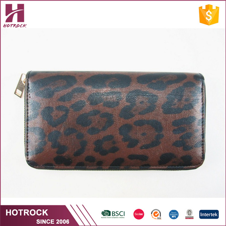 Wholesale ladies money wallet women pu leather clutch purse