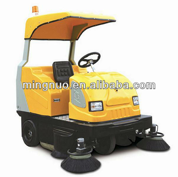 CE road sweeper, road sweeping machine/high pressure cleaner/vacuum street sweeper with water spray