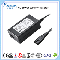 Universal Replacement IEC 60320 C13 power cable for power supply adapter copper wire
