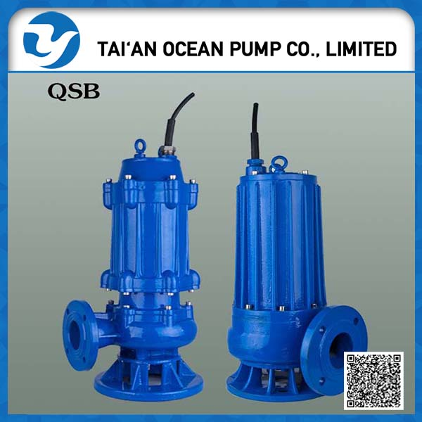 Submersible swage water pump With automatic motor protection