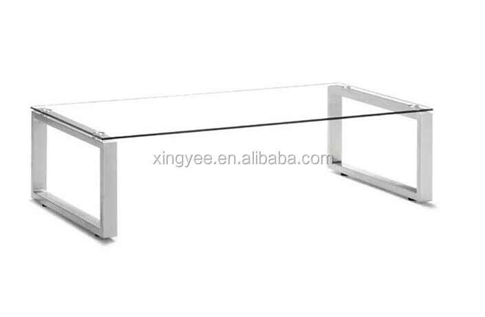 Modern Furniture Home Goods Coffee Table Design Glass Tea. Foshan Office  Furniture Coffee Table Stainless Steel ...
