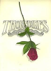Thorndikes Restaurant Menu Orlando Florida Radisson Hotel 1985