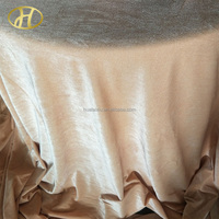 Wedding velvet table cloth in china