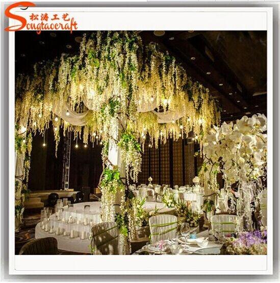 Wedding Centerpieces Wholesale Table Centerpiece Tree White Wedding