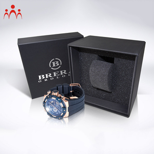 Leather Strap Watches Men Wrist Luxury Watch Packaging