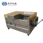 Factory Price of Semi Automatic 50kg/h Fried Potato Chips Production Line