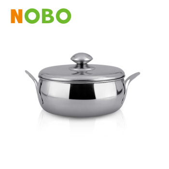 S/S soup boiler with lid stainless steel stock pot